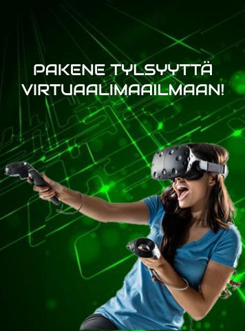 Pakene tylsyyttä virtuaalimaailmaan!
